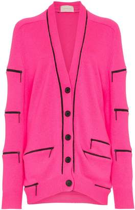Christopher Kane cashmere zip cardigan