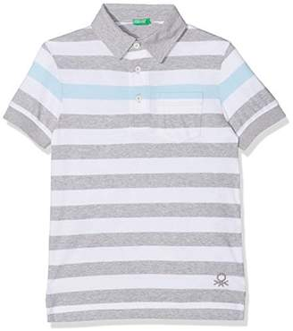 Benetton Boy's H/s Polo Shirt,One (Size: X-Small)