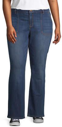 Vanilla Star Bootcut Jeans - Juniors