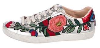 Gucci 2017 Ace Embroidered Sneakers