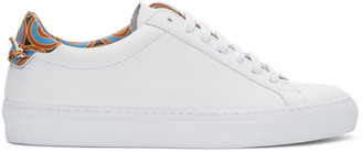 Givenchy White Urban Knots Sneakers $575 thestylecure.com