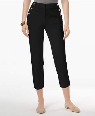 Charter Club Petite Sailor Capri Pants, Created for Macy's