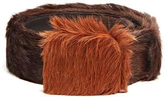 Prada Calf-hair belt