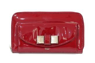 Chloé Red Patent leather Wallets