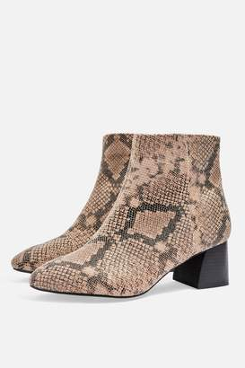 Topshop WIDE FIT BABE Ankle Boots