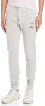 Franklin & Marshall Grey Uni Pocket Slim Fit Sweatpants