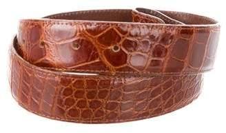 Kieselstein-Cord Alligator Waist Belt