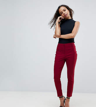 Asos High Waist Pants In Skinny Fit