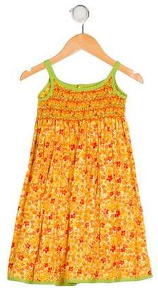 Isabel Garreton Girls' Floral Print Dress