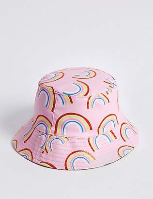 Marks and Spencer Kids' Water Repellent Rainbow Print Hat (3 Months - 6 Years)