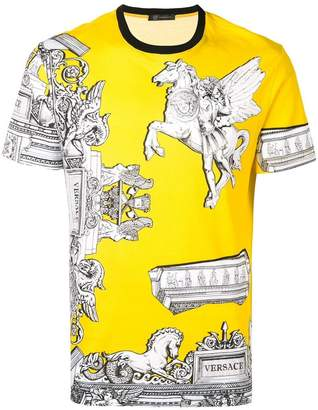 Versace greek painting T-shirt