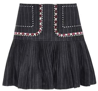 Etoile Isabel Marant Isabel Marant, Étoile Jessie linen miniskirt