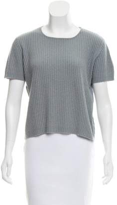 TSE Cashmere Short Sleeve Top