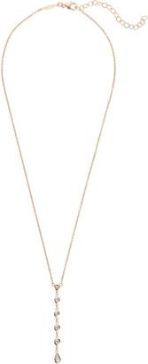 Jacquie Aiche Six Diamond Y Lariat Necklace