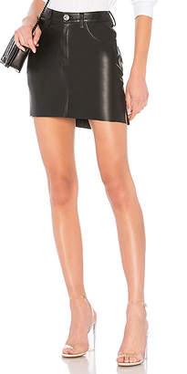 One Teaspoon 2020 Leather Mini Skirt