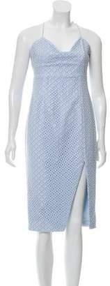 Nicholas Embroidered Sheath Dress w/ Tags