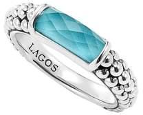 Lagos 'Maya' Stackable Caviar Ring