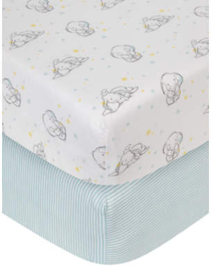 Disney Dumbo Cotbed Fitted Sheets