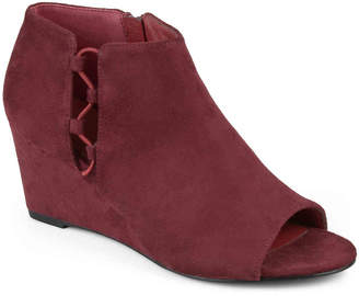 Journee Collection Falon Wedge Bootie - Women's