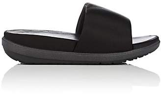 FitFlop LIMITED EDITION Women's Loosh Satin Slide Sandals - Black