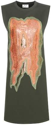 Acne Studios Katja embroidered sweater dress