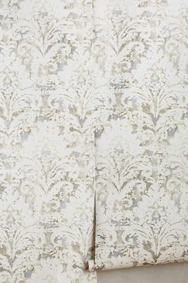 Anthropologie Batik Damask Wallpaper