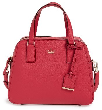 Kate Spade Kate Spade New York Cameron Street - Little Babe Leather Satchel - Pink
