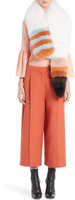 Fendi Genuine Fox Fur Stole