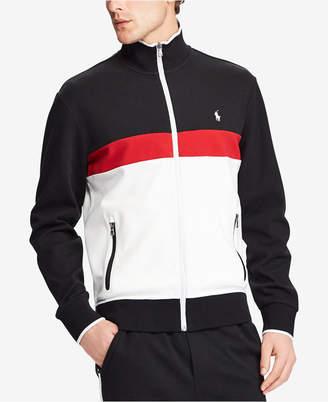 Polo Ralph Lauren Men's Big & Tall Colorblocked Track Jacket