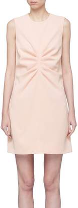 Victoria Beckham VICTORIA, Pleated front shift dress