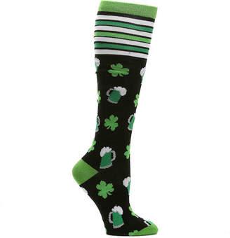 K. Bell Beer Shamrock Knee Socks - Women's