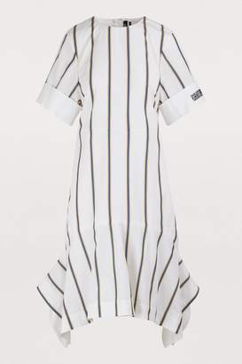 Calvin Klein Midi dress with wide sleeves
