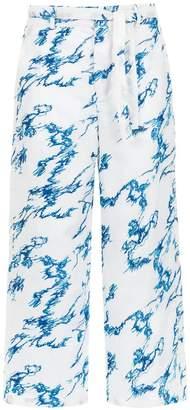 Tufi Duek printed cropped trousers