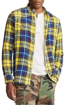 Polo Ralph Lauren Plaid Twill Shirt