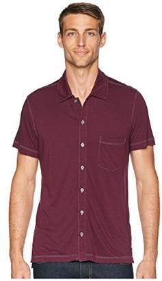 Agave Men's Fort Point Short Sleeve Full Button Polo