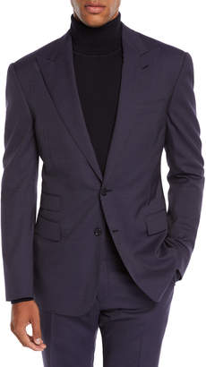 Ralph Lauren Men's Mini Pin-Dot Two-Piece Wool Suit
