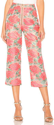 For Love & Lemons Jackpot Brocade Pant