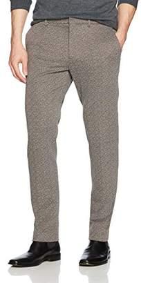Perry Ellis Men's Slim Fit Jacquard Suit Pant