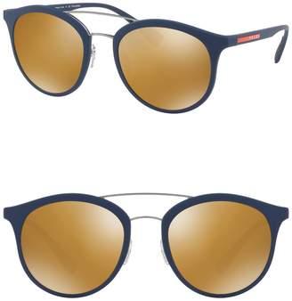 Prada Linea Rossa 54mm Polarized Phantos Sunglasses