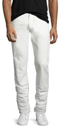 Ralph Lauren Five-Pocket Stretch-Cotton Pants, White