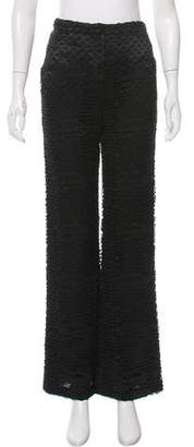 Gianni Versace High-Rise Crocheted Pants