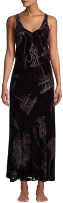 Faberge Christine Lingerie Velvet Nightgown