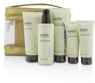 Ahava NEW Deadsea Water Mineral Body Kit: Shower Gel + Body Exfoliator +