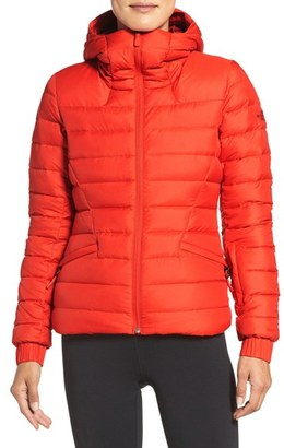 Women's The North Face Moonlight Water Repellent 550 Fill Power Down Jacket $230 thestylecure.com