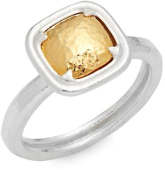 Gurhan Women's Square Sterling Silver Ring