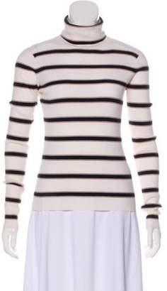 A.L.C. Striped Turtleneck Sweater black Striped Turtleneck Sweater