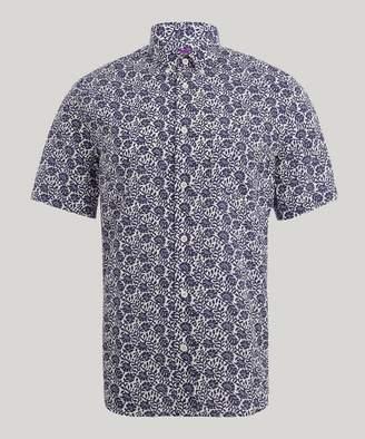 Liberty London Ashridge Men's Linen Shirt