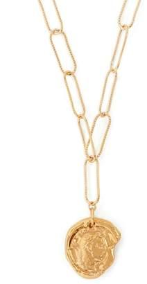 PeaceKeeper Alighieri - The Coin Charm Gold Plated Necklace - Womens - Gold