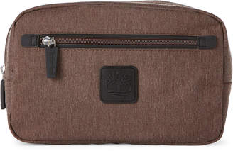 Timberland Brown Chambray Travel Kit