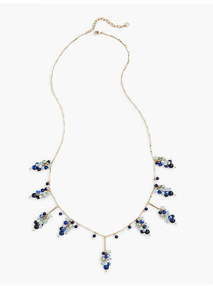 Talbots Beaded Clusters Layer Necklace